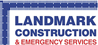 Landmark Construction & Emergency Services Logo